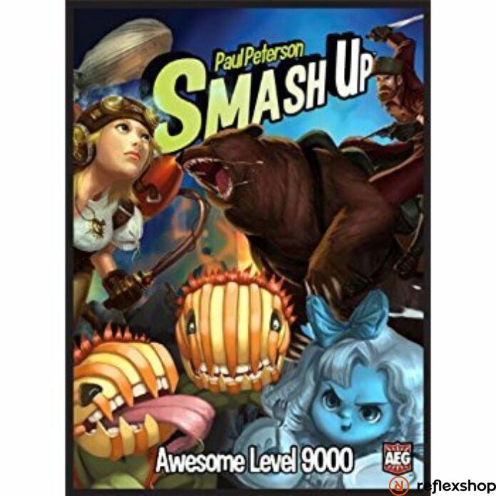 Smash up! Awesome level 9000 - angol nyelvű társasjáték