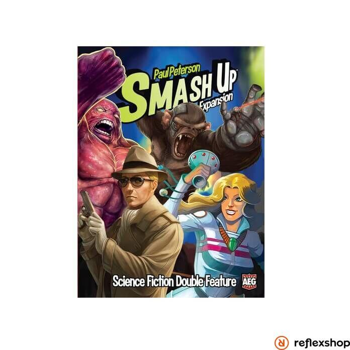 Smash Up Science Fiction Double Feature társasjáték, angol nyelvű