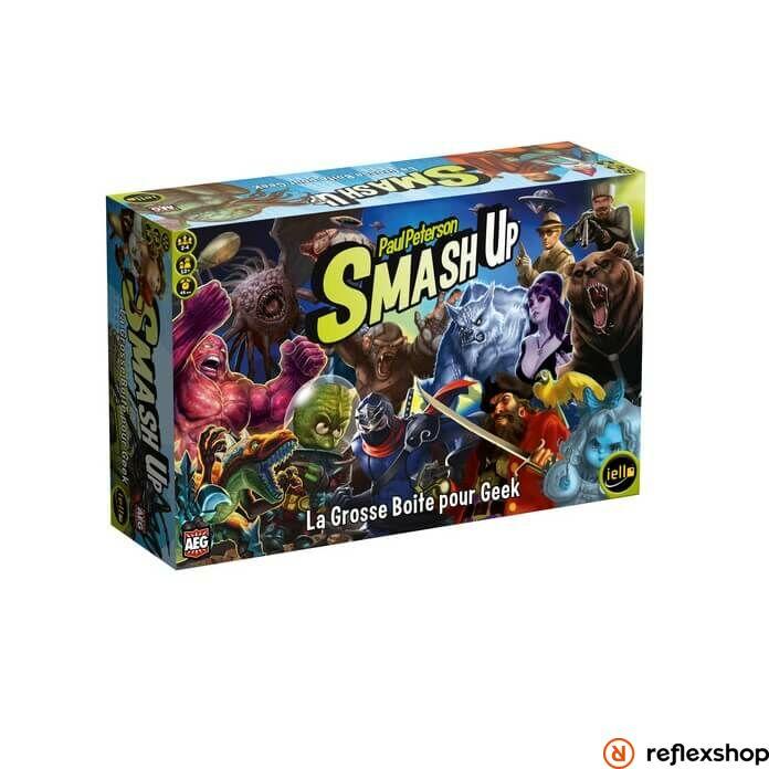 AEG Smash up: The Big Geeky box társasjáték