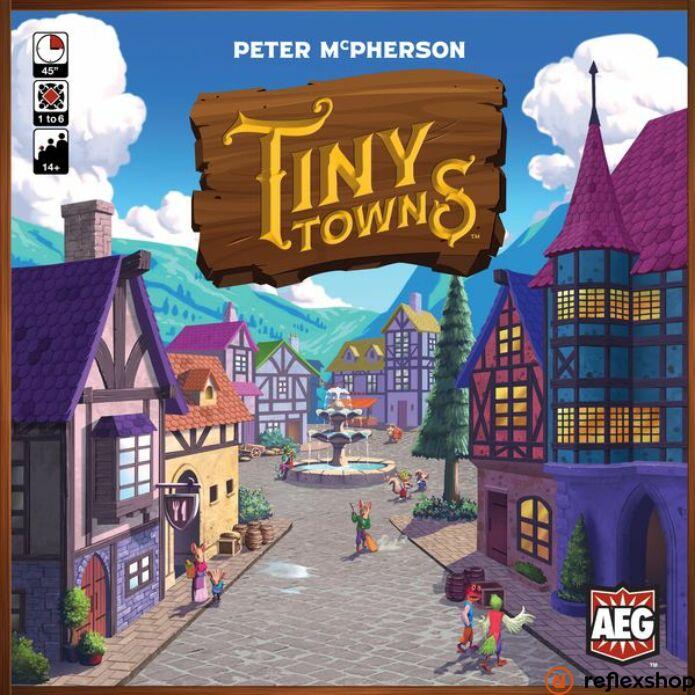 Tiny towns angol nyelvű társasjáték