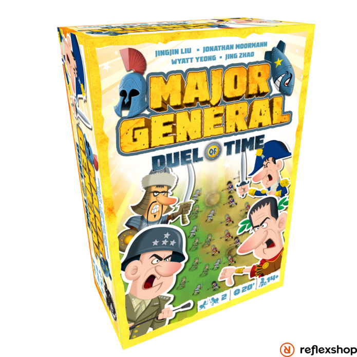 Major General Duel of Time társasjáték, angol nyelvű