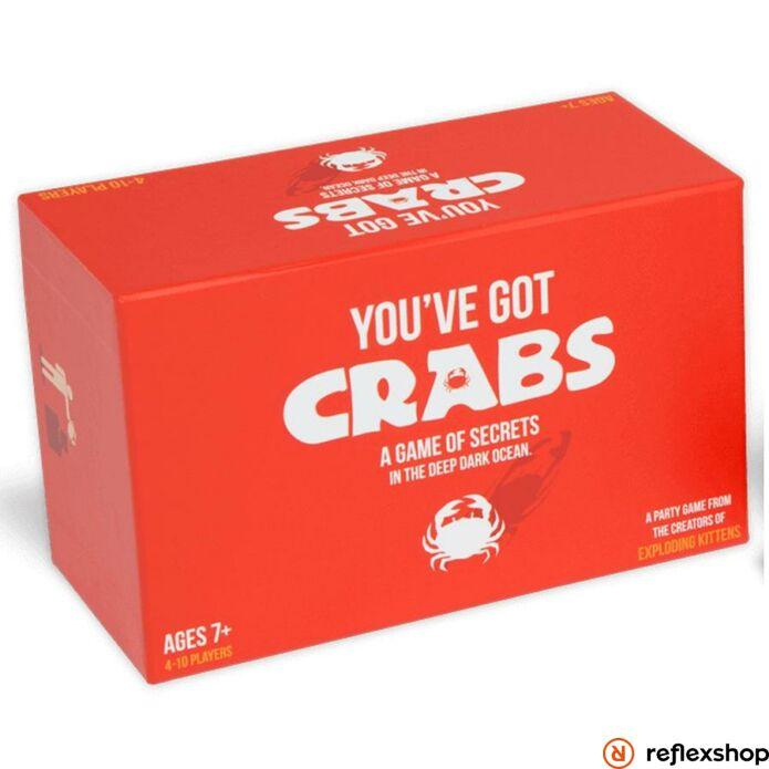 You've got Crabs társasjáték, angol nyelvű társasjáték