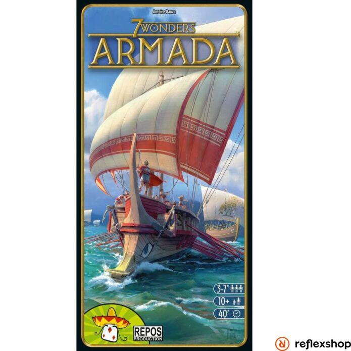 7 wonders - 7 Csoda társasjáték - Armada kiegészítő, angol