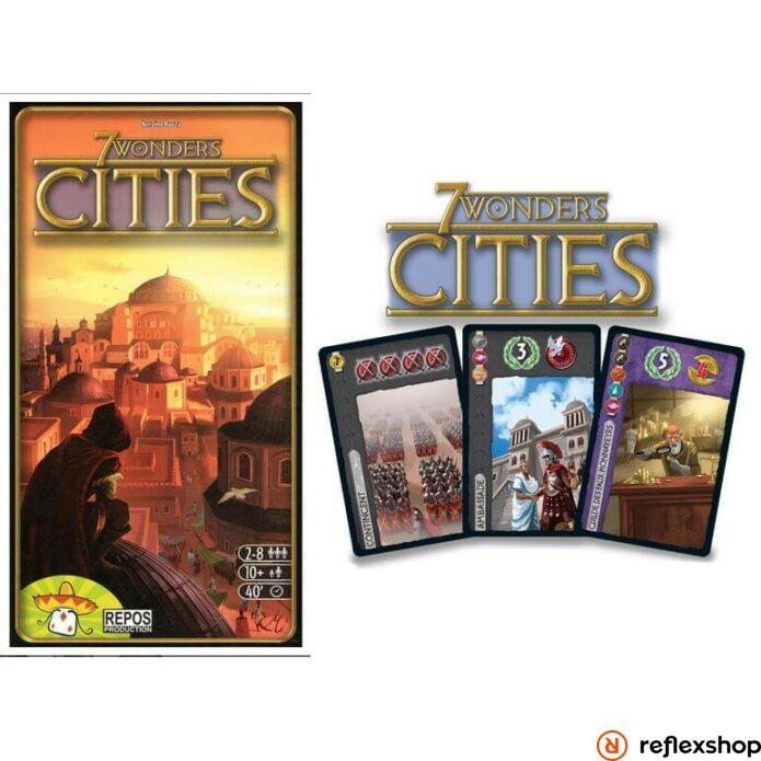 7 Wonders 7 csoda társasjáték - Cities kiegészít?