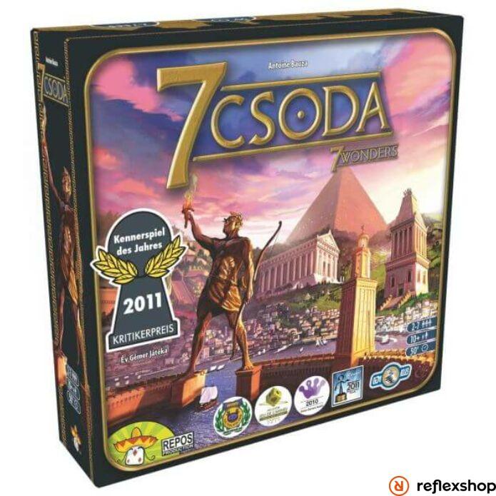 7 Csoda - 7 Wonders társasjáték - magyar kiadás