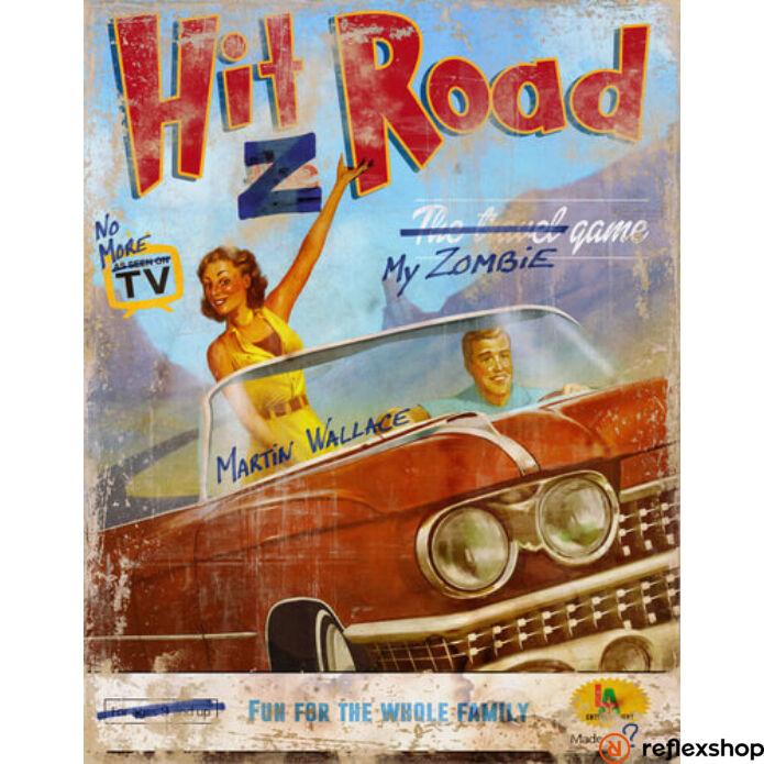 Hit Z Road angol nyelvű társasjáték