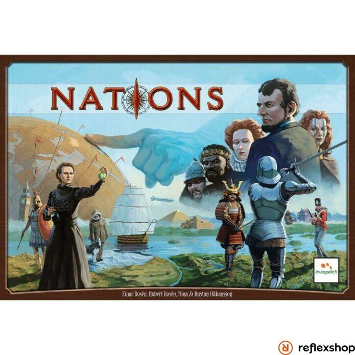 Nations angol nyelvű társasjáték