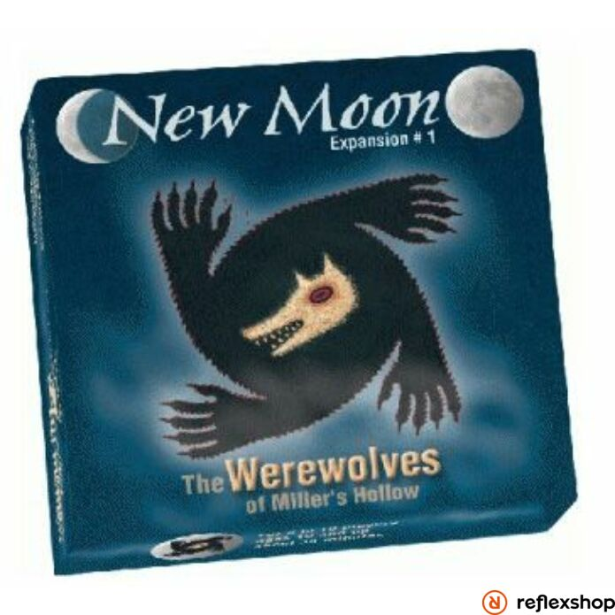 Asmodee - New Moon társasjáték - Werewolves of Miller's Hollow expansion