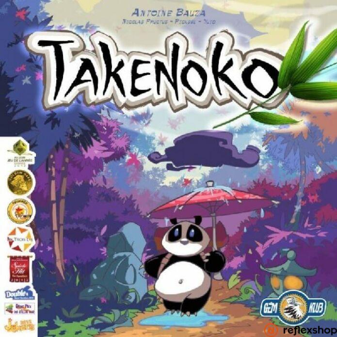 Takenoko magyar kiadás társasjáték