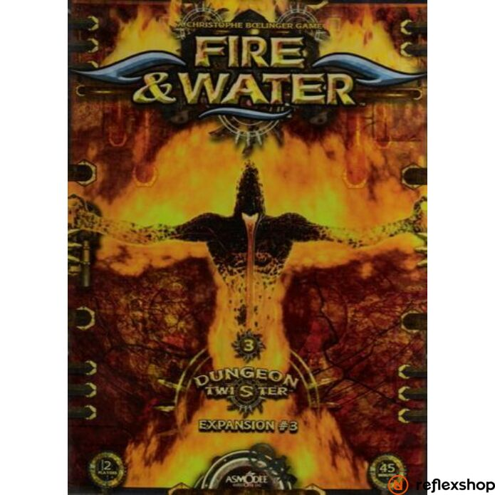 Dungeon Twister kiegészít? - Fire and Water