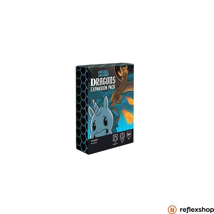 Unstable Unicorns angol nyelvű társasjáték, Dragons kiegészítő