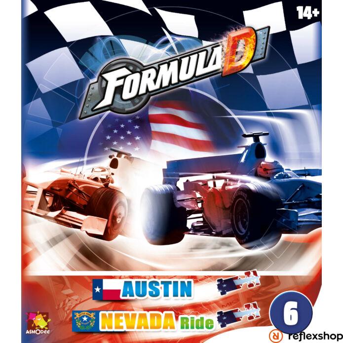 Formula D társasjáték: új pályák - Austin & Nevada kiegészít?