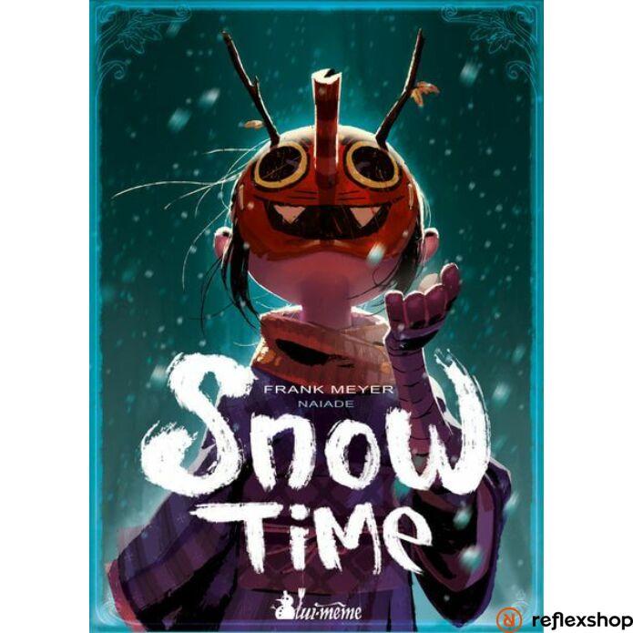 Snow Time társasjáték, angol nyelvű