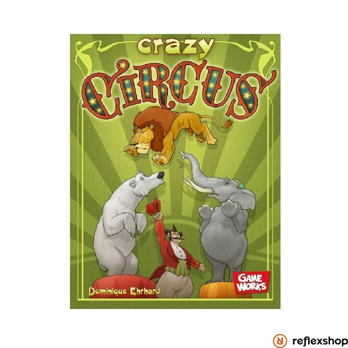 Asmodee Crazy Circus társasjáték