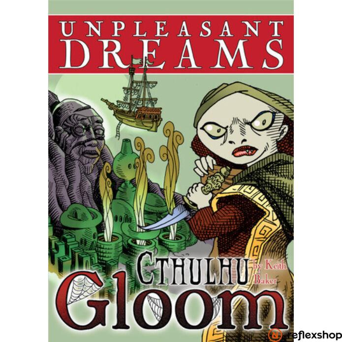 Cthulhu Gloom Unpleasant Dreams angol nyelvű kiegészítő