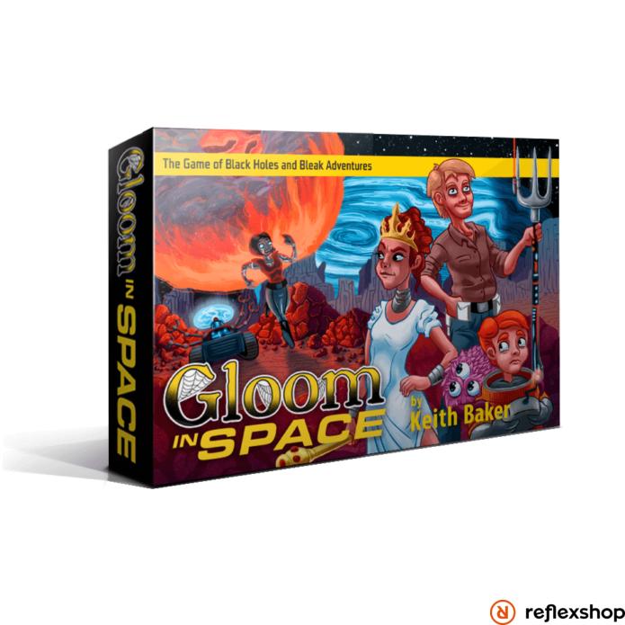 Gloom in Space angol nyelvű társasjáték