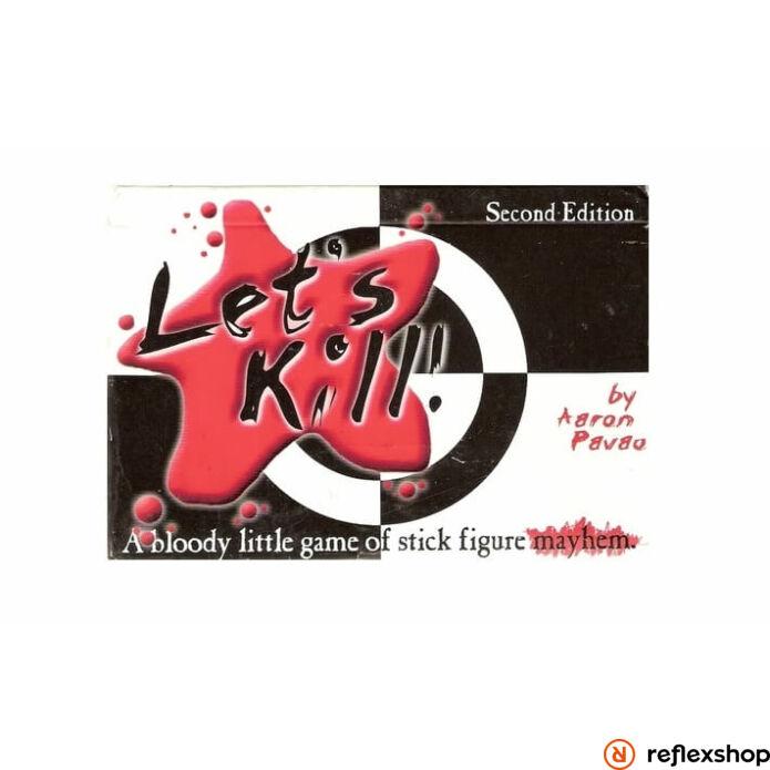 Let's Kill angol nyelvű társasjáték