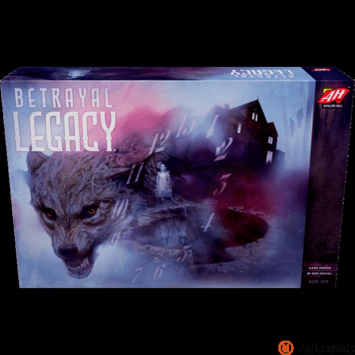 Betrayal Legacy társasjáték, angol nyelvű
