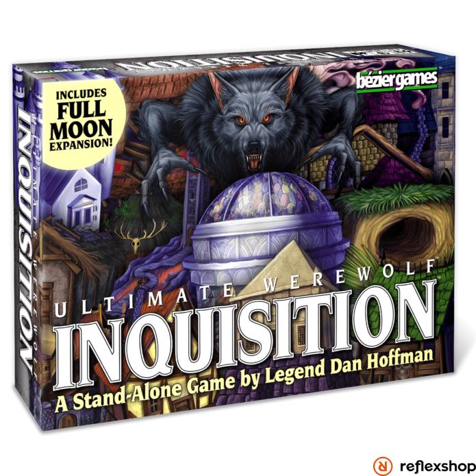 Ultimate Werewolf: Inquisition angol nyelvű társasjáték