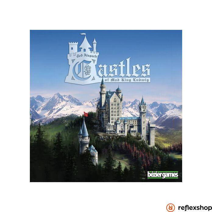 Castles of Mad King Ludwig angol nyelvű társasjáték