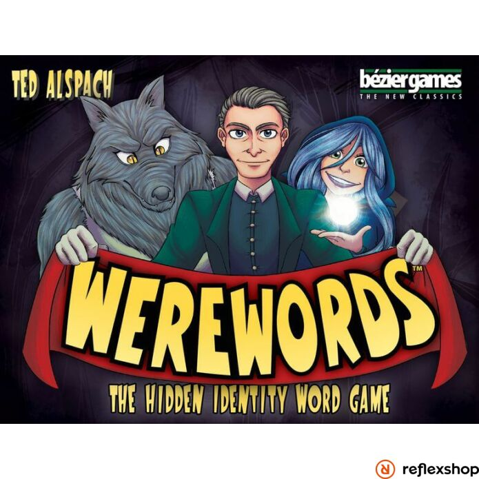 Werewords társasjáték, angol nyelvű