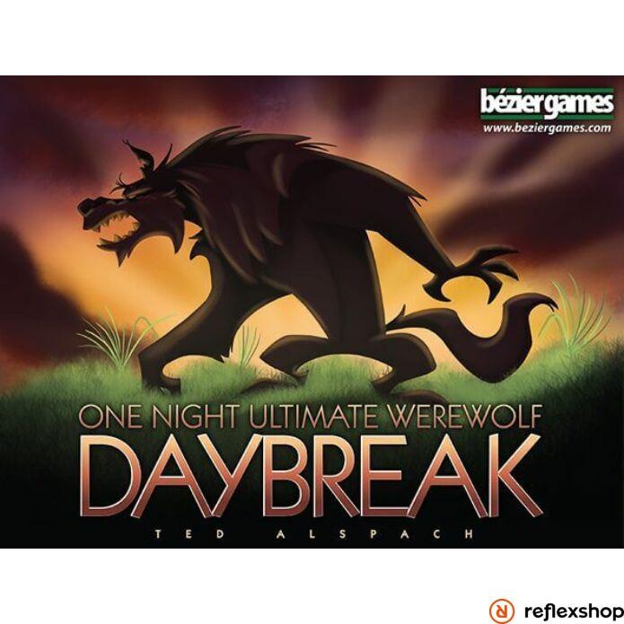 One Night Ultimate Werewolf Daybreak társasjáték, angol nyelvű