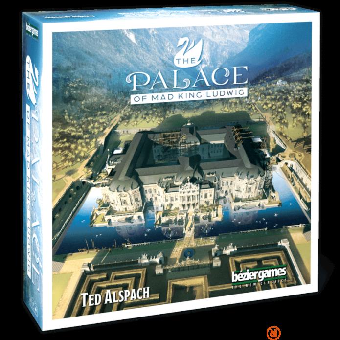 Palace of Mad King Ludwig társasjáték, angol nyelvű
