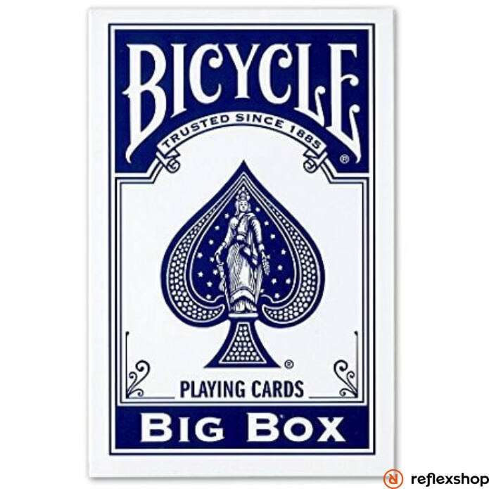 Bicycle Big Box XXL kék kártya