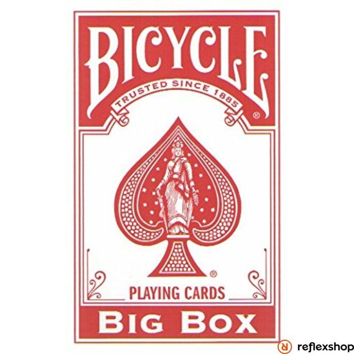 Bicycle Big Box XXL piros kártya