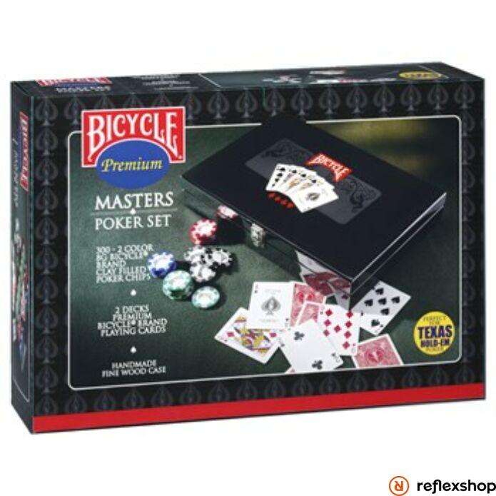 Bicycle Masters Poker szett
