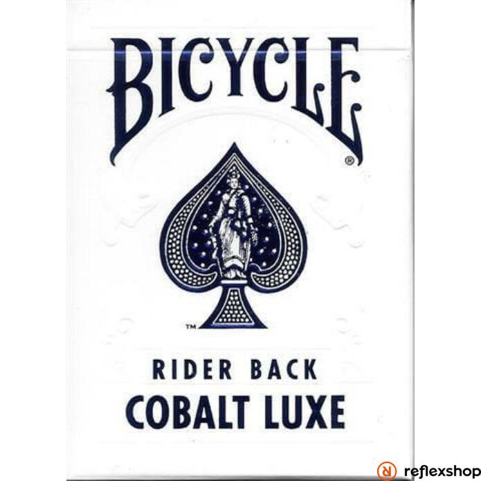 Bicycle MetalLuxe Cobalt kártya