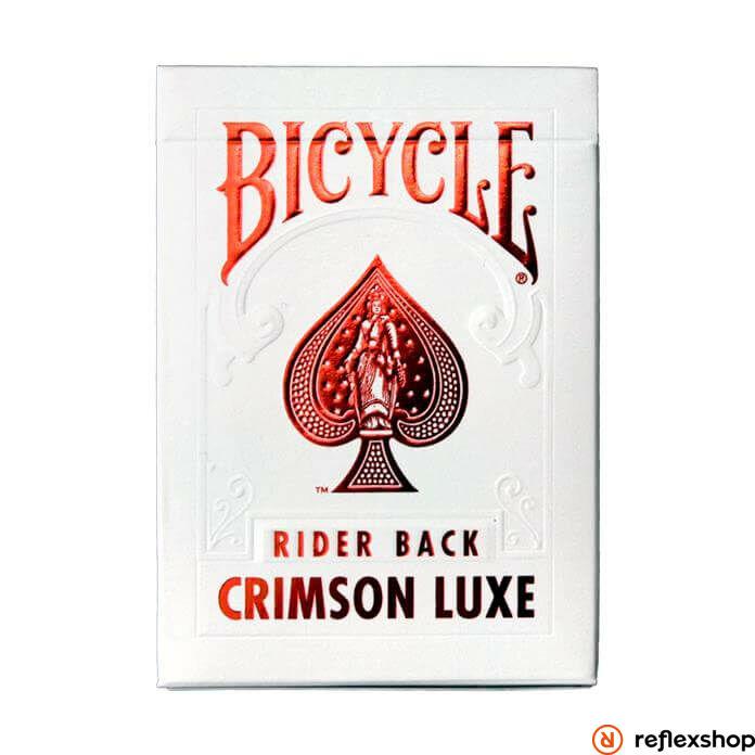 Bicycle MetalLuxe Crimson kártya