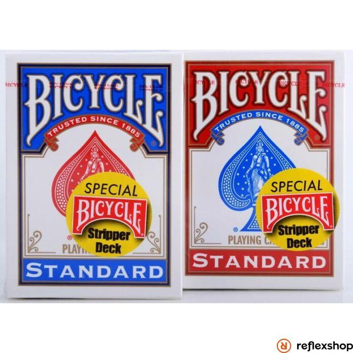 Bicycle Stripper deck - piros és kék kártya