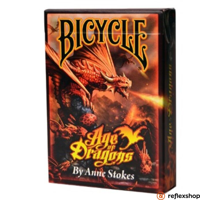 Bicycle-Anne Stokes: Age of Dragons kártya
