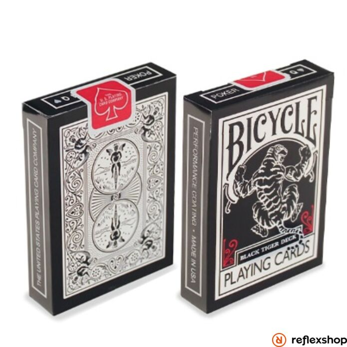 Bicycle Black Tiger kártya