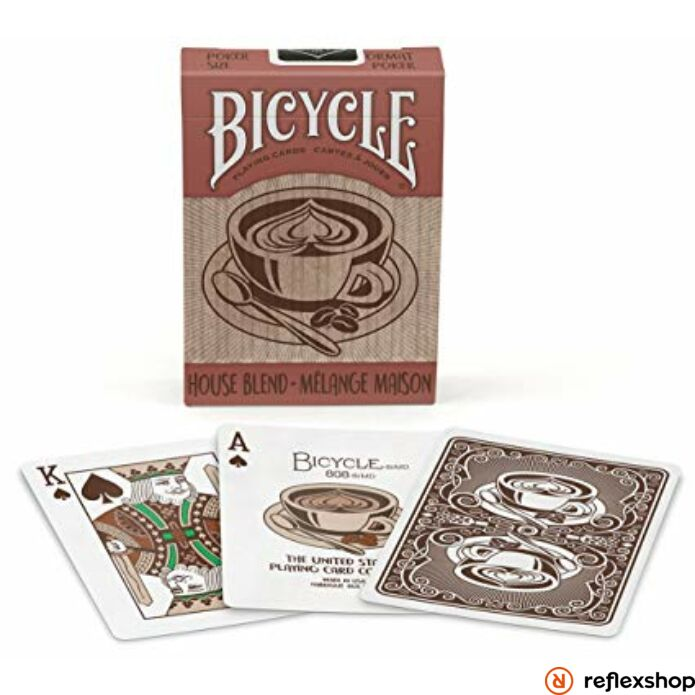 Bicycle House Blend kártya