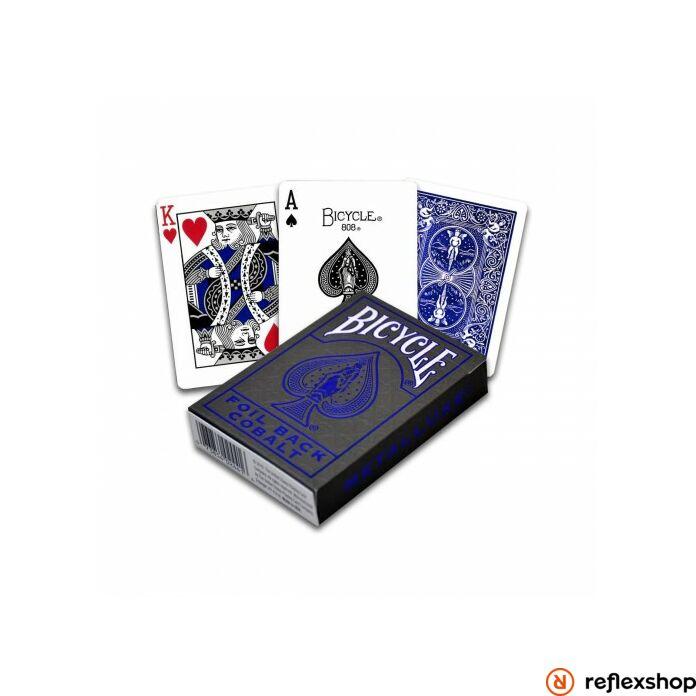 Bicycle Metalluxe Blue pókerkártya