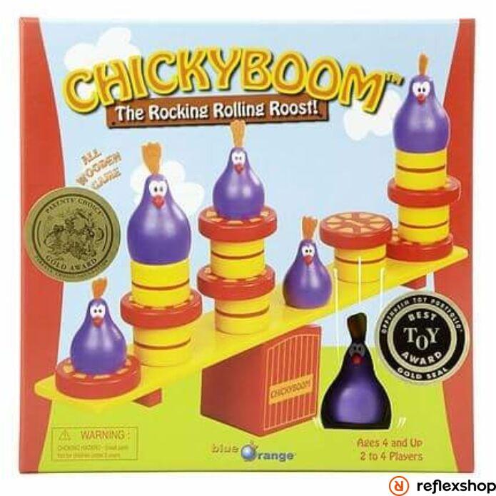 Chicky Boom - egyensúlyozós társasjáték