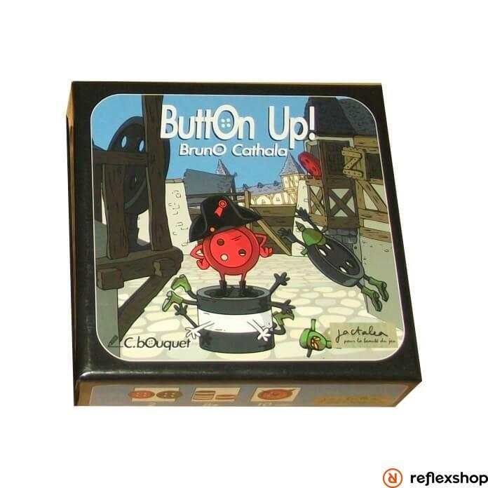 Gombra Fel! - Button Up! társasjáték