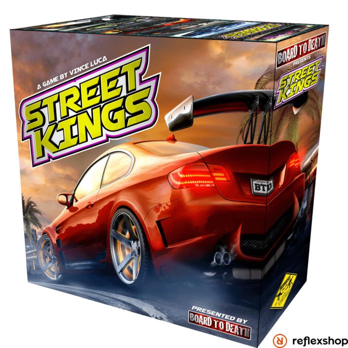 Street Kings angol nyelvű társasjáték