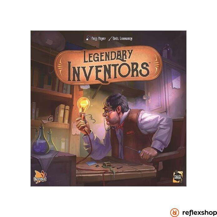 Legendary Inventors angol nyelvű társasjáték