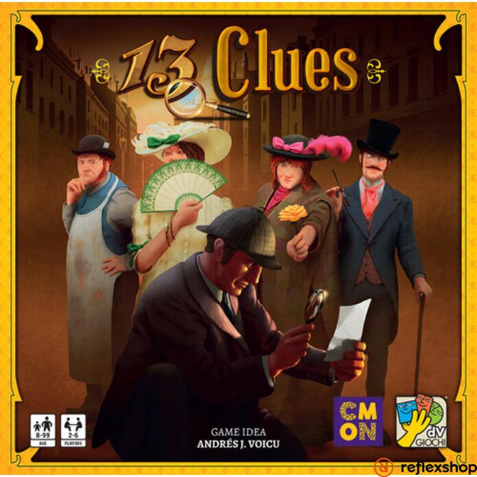 13 Clues társasjáték, angol nyelvű