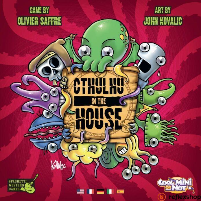 Cthulhu in the House angol nyelvű társasjáték