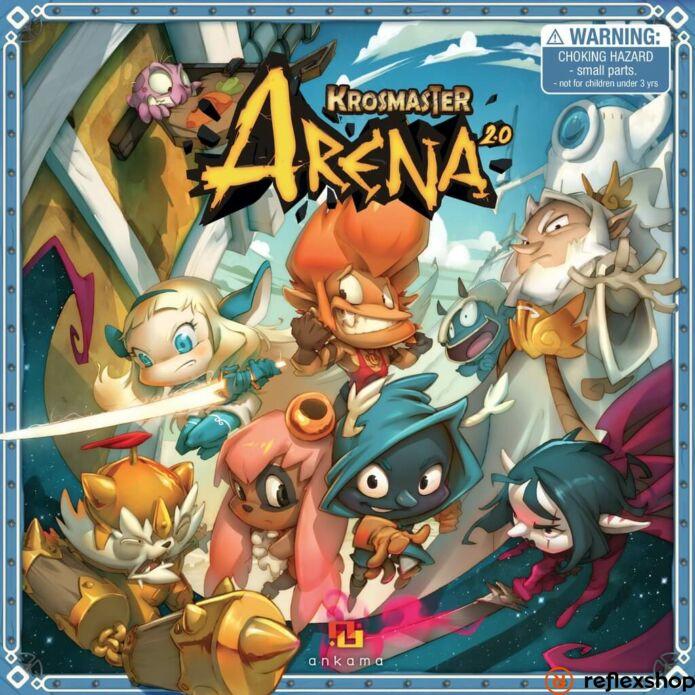 Krosmaster Arena 2.0 társasjáték, angol nyelvű
