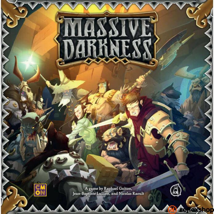 Massive Darkness angol nyelvű társasjáték