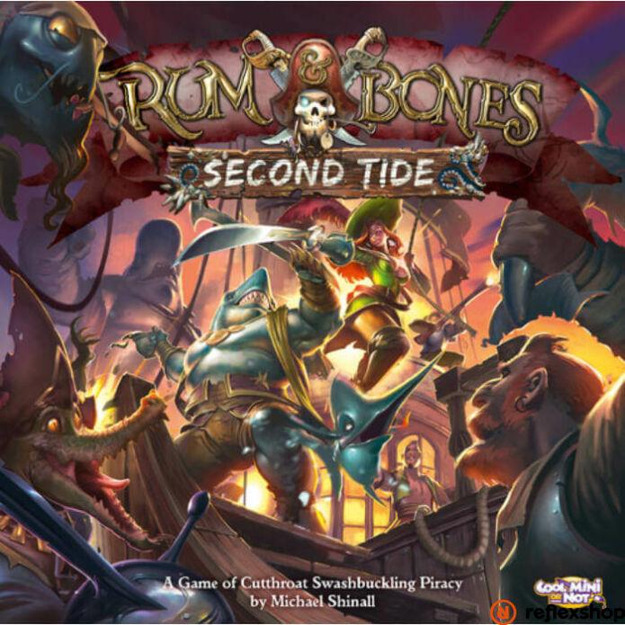 Rum & Bones: Second Tide angol nyelvű társasjáték