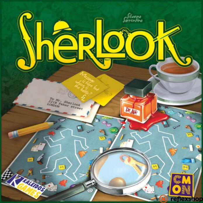 Sherlook angol nyelvű társasjáték