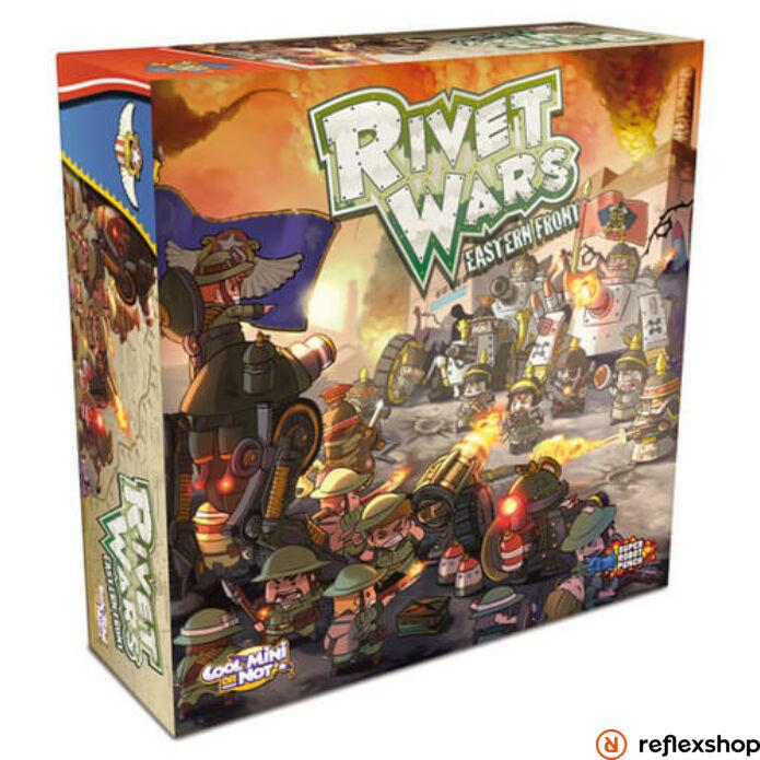 Rivet Wars társasjáték, angol nyelvű