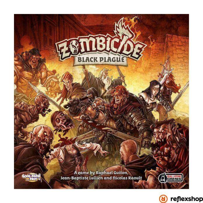 Zombicide Black Plague angol nyelvű társasjáték