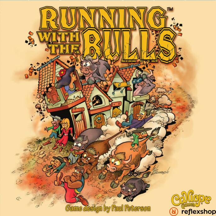 Running with the Bulls angol nyelvű társasjáték